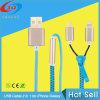 중국 Factory Price를 가진 Zipper 1 USB Cable에 대하여 2015 최신 Selling 높은 Quality 2
