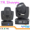 단계 Equipment Sharpy Moving Head 230W Beam 7r
