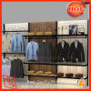 Parete Display Shelf per Mens Clothes