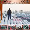 Máquina eléctrica de la producción de poste del concreto pretensado en Etiopía