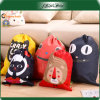 Hot Sell Quality Plastic Cartoon School Drawstring Gift Bag