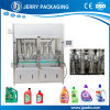 máquina de rellenar automática del petróleo de lubricante 1L-5L para el líquido de gran viscosidad