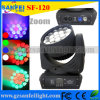 19PCS 4in1 Osram LED Beam Zoom Moving Head Light