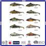 Attrait fait sur commande de pêche de vairon de qualité de fournisseur de la Chine