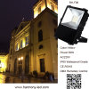 CE, RoHS Yellow 50W DMX Remotely Control LED Flood Light