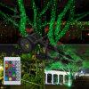 Lumière de vacances de lumière de Noël de laser pour la décoration d'arbre de jardin