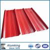 Strato di alluminio ondulato preverniciato del tetto per costruzione