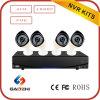 4 kit della macchina fotografica del IP del sistema di allarme del collegamento della Manica NVR