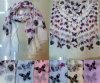 Figura sciarpa della farfalla di colore solido di 81310144 modi della garza