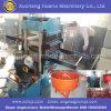기계를 만드는 고무 매트를 재생하는 폐기물 타이어