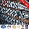 Bitumn Sicherheitsfaktor 1.5 polygonaler 12m galvanisierter elektrischer Stahlpole