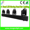 4つのヘッド10W DJ Lighting Head Moving Lights