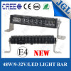 48W CREE LED que conduce la barra ligera buen IP68 impermeable del coche