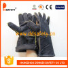 Черная заварка Glove-Dlw623 Split кожи коровы