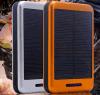 El regalo 2015 de la Navidad 10000mAh se dobla banco de la energía solar del USB para el teléfono móvil conveniente