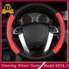 Plutônio novo Leather de Material com Hole Auto /Car Steering Wheel Cover