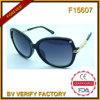 F15607ダイヤモンドの方法女性のサングラス、中国の工場、UV400 FDA