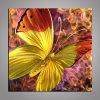 Beaux métier en métal de papillon/peinture à l'huile en métal pour le décor