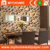 Papel de empapelar casero del PVC de la piedra 3D de la decoración (D130402)