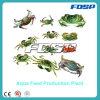 Linha de produção usada longa vida da alimentação do caranguejo