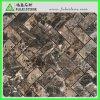 Polished естественная темная мозаика Herrigbone Emperador