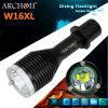 Archon W16xl LEDのトーチの最大860の内腔の潜水のFlahslight LEDの懐中電燈