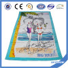 Customedは印刷した綿のベロアのビーチタオル(SST0503)を