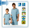 Schnelles Dry Color Blue Soccer Futsal Wear für Family