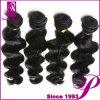 ボディ波様式のインドの加工されていないバージン100%年の毛のインドに編むこと
