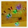 蝶LED小さい夜ランプLEDのホーム装飾ライト