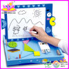 Madera Juguetes Educativos - Tablero de Dibujo (W12B006)