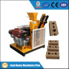 Hr1-25 Diesel Engine Clay Brick Making Machinery Price em Rússia