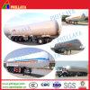 acoplado del tanque del LPG de la presión del transporte del almacenaje de gas 52cbm semi
