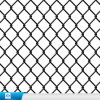 Frontière de sécurité enduite de maillon de chaîne de la maille de zoo de qualité/PVC