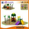 Campo da giuoco esterno di divertimento, bambini dei giochi, giocattoli della costruzione