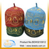 2014 Wool superventas Felt Embroidery Muslim Islamic Hat Cap en Stock