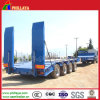 4 assi 20ft 40ft Container Transport Gooseneck e Ladder Available Lowbed Semi Trailer