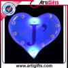 Insigne personnalisé de bouton de promotion pour la forme de coeur