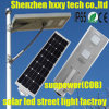 Aluminum Alloy Solar Street Lamp with 80W Panel