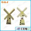 工場価格の風車整形PVC USBのメモリ