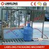 Lavage des bouteilles semi-automatique de baril de 5 gallons des prix bon marché/machine remplissante/recouvrante pour la petite usine