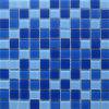 青いプールのガラスモザイク(VMG4003)