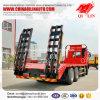 30 van de Lage van het Bed van de Daling ton Vrachtwagen van het Dek met de Hydraulische Helling van 1000mm