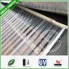 Strati ondulati della costruzione del tetto del PC antinvecchiamento resistente UV infrangibile del comitato