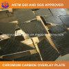 Биметаллическая плита износа для таблицы цемента вращая