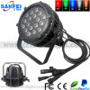 屋外18PCS*10W RGBW Aluminum LED PAR Light