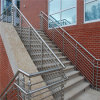 Barandilla de la escalera de la barra plana de acero inoxidable/barandillas de acero para las escaleras