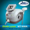 Máquina da remoção do cabelo do laser do diodo de 808 nanômetro para o centro da beleza