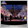 Luz pública comercial do motivo de Pólo do feriado do diodo emissor de luz da decoração 3D do Natal