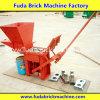 小さい手動連結のブロック機械赤い粘土の煉瓦機械